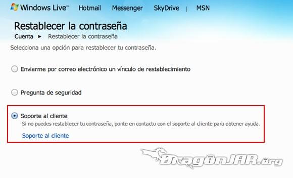 Recuperar Hotmail 3 ¿Cómo Recuperar una Cuenta de MSN Messenger / Hotmail?