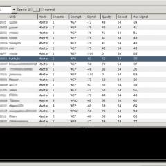 iwScanner, el NetStumbler de GNU Linux