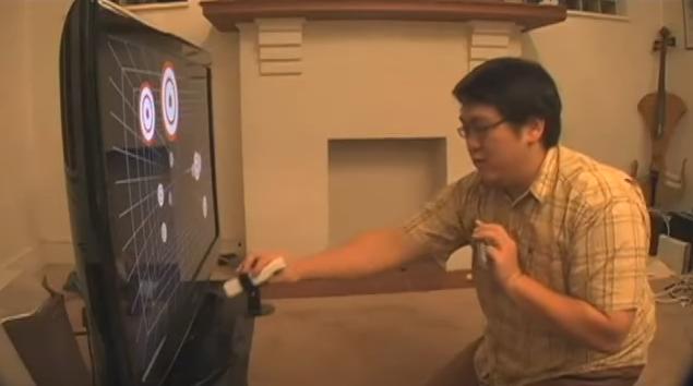 Sensación de 3D real usando el Wiimote
