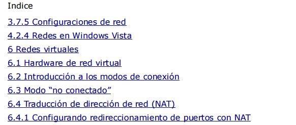Manual en Español de Redes con VirtualBox