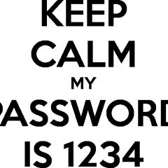 """""""1234"""" y """"password"""" son las Contraseñas + Utilizadas en USA"""