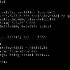 Resetear contraseña de root con GRUB