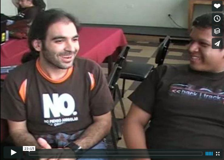 """Entrevista a Jose Maria """"Chema"""" Alonso para La Comunidad DragonJAR"""