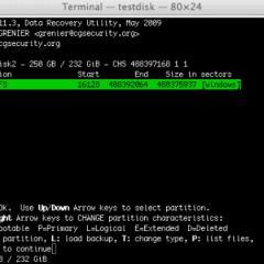 TestDisk – Recupera tus Particiones y Archivos
