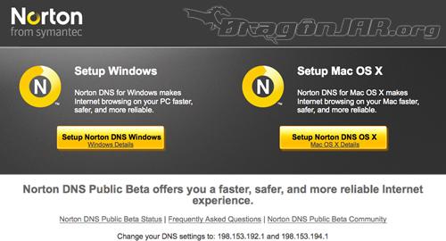 Norton DNS Publico