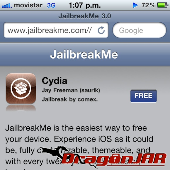Jailbreakme3 Jailbreak a Cualquier iPhone, iPod Touch e iPad