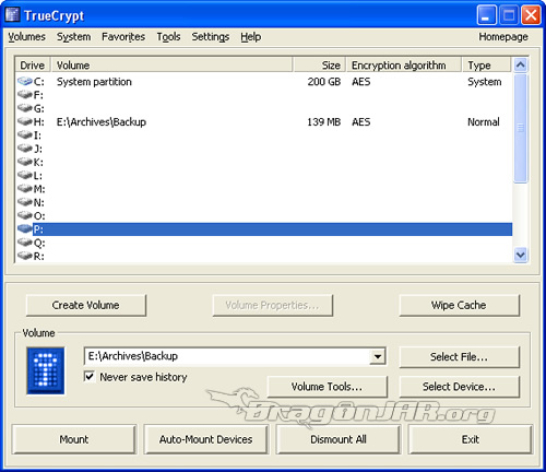 TrueCrypt TrueCrypt   Cifra tu información en particiones virtuales