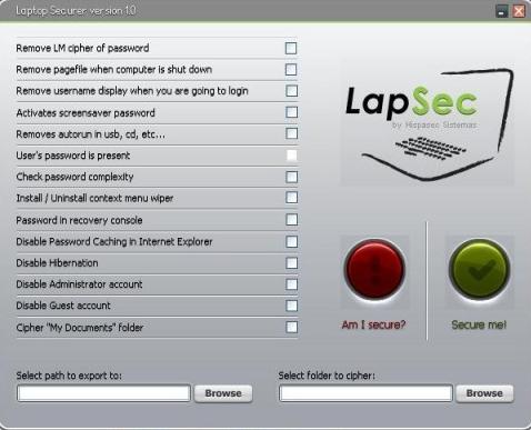 LapSecss LapSec   Asegura tu Laptop con un Click