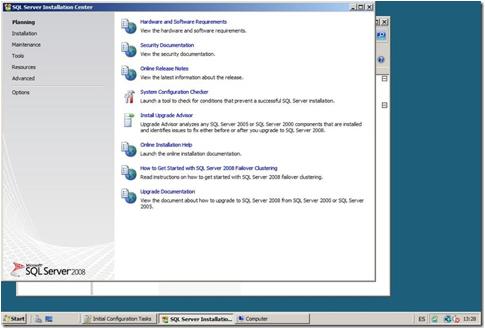 Descripción: SQL2008InstallOverview