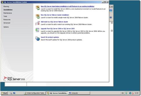 image013 Instalación de TFS, SQL Server 2008 y SDL