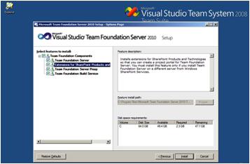 image069 Instalación de TFS, SQL Server 2008 y SDL