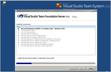 image071 Instalación de TFS, SQL Server 2008 y SDL