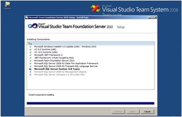 image081 Instalación de TFS, SQL Server 2008 y SDL