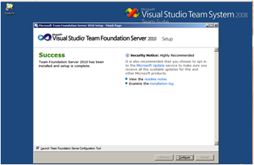 image087 Instalación de TFS, SQL Server 2008 y SDL