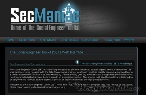 The Social-Engineer Toolkit