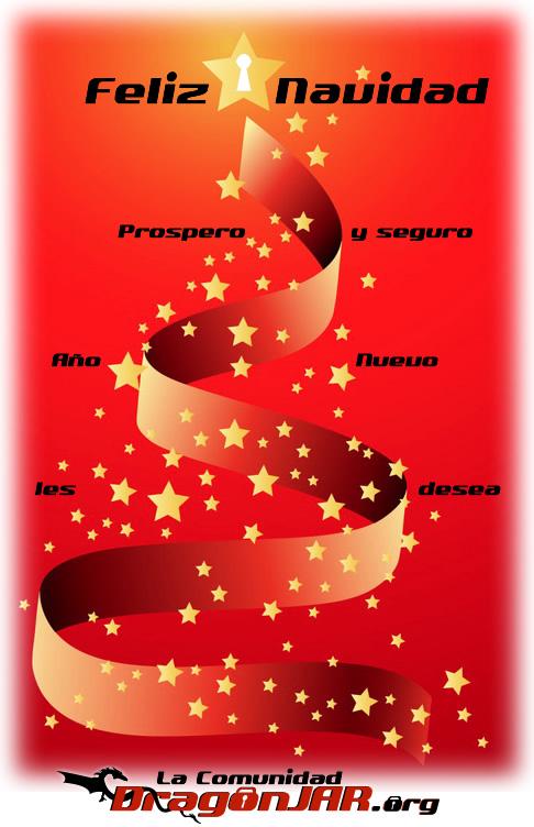 Feliz Navidad Comunidad DragonJAR