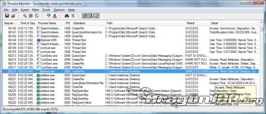 Monitoreo de Procesos, Registro y Archivos en Windows