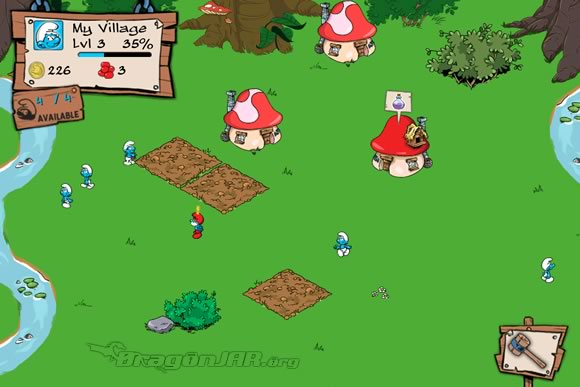 SmurfBerry Gratis, Free Smurfs Village iPhone, iPad, iPod Touch