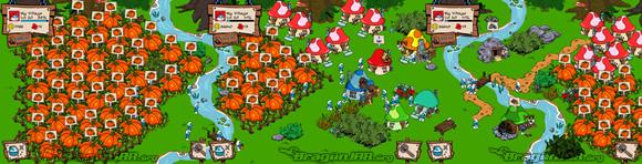 SmurfBerry Free, Gratis Smurfs Village