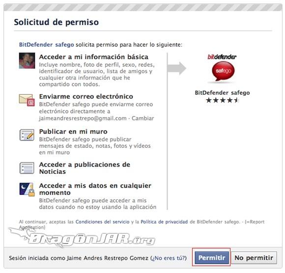 FacebookAV1 Antivirus para tu Facebook