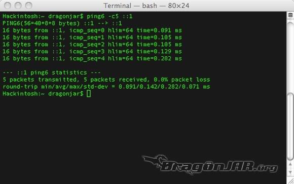 IPv6 Mac 1 Configurando IPv6 en nuestro equipo