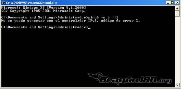 IPv6 Windows 1 Configurando IPv6 en nuestro equipo