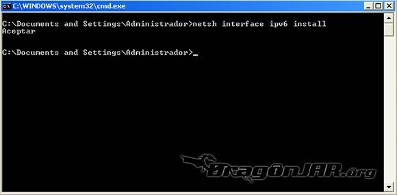 IPv6 Windows 2 Configurando IPv6 en nuestro equipo