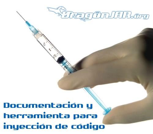 Inyeccion Documentación y herramienta para inyección de código