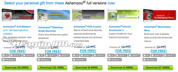 Ashampoo Norton AntiVirus, Norton Internet Security, Ashampoo Anti Malware y otros GRATIS