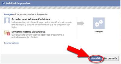 permitir facebook Qué hace realmente Espia F a c e.com