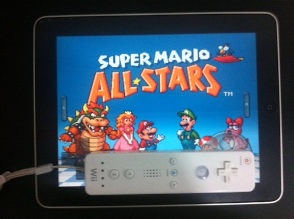 iPad Arcade 1 iPad + Wiimote = Consola Arcade Portable