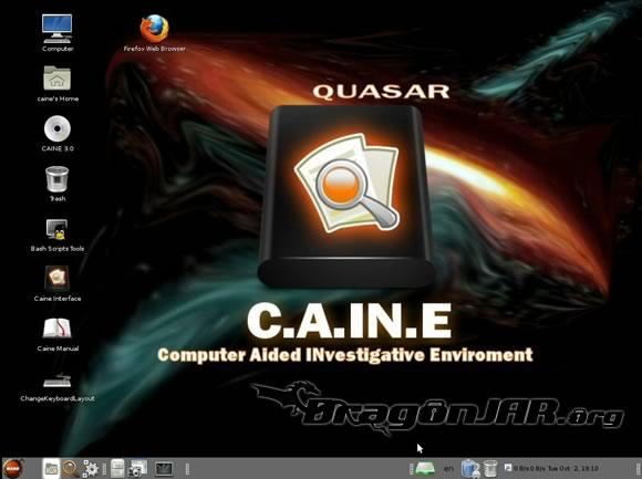 CAINE – Distribución Live CD para Análisis Forense