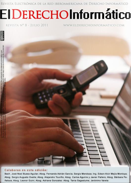 DerechoInformatico8 Revista Electrónica El Derecho Informático 8