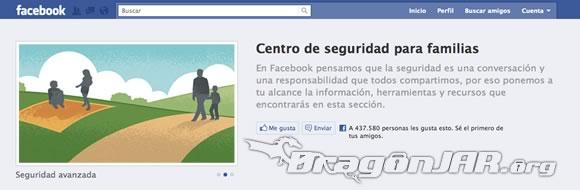 Guía oficial de seguridad en Facebook