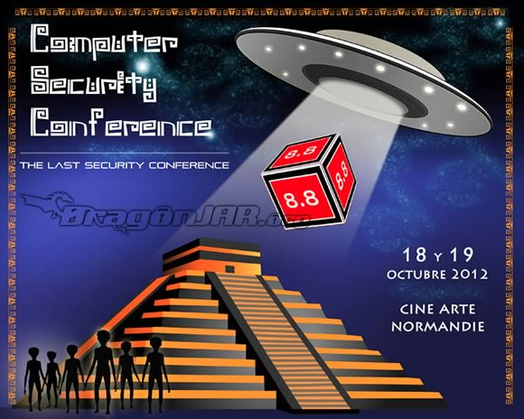 8dot8 8.8 Computer Security Conference   Chile