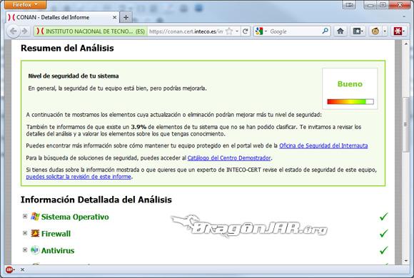 CONAN CONAN – Herramienta para Análisis de Seguridad en equipos Windows