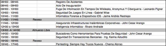 e-Security Conferences