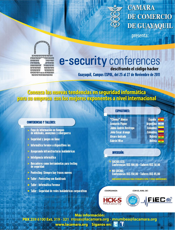 e-Security Conferences