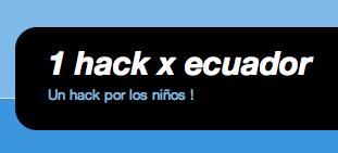 HackxEcuador