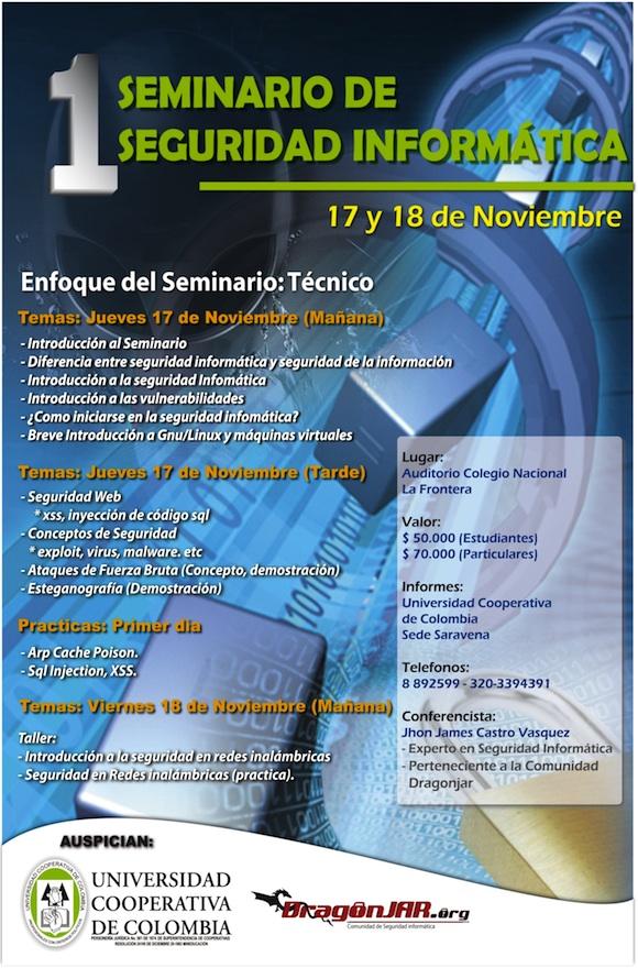 1 Seminario de Seguridad Informática