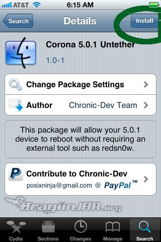 Jailbreak Untethered Jailbreak Untethered para iOS 5.0.1