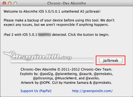 Jailbreak iOS 5.0.1 iPad2 iPhone 4S  Jailbreak Untethered para iOS 5.0.1