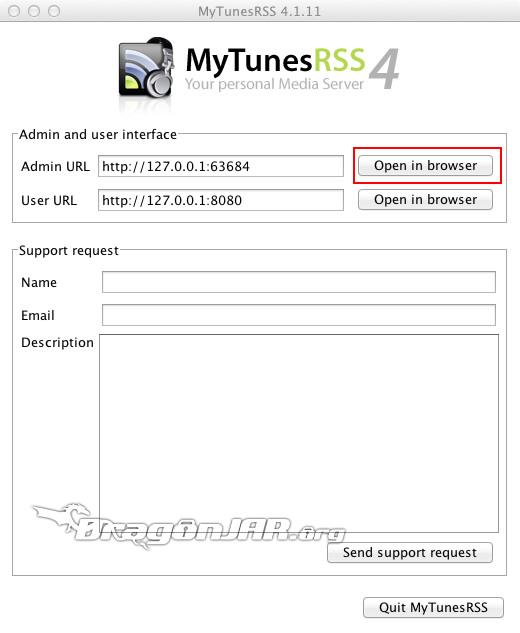 Librería iTunes en Wii
