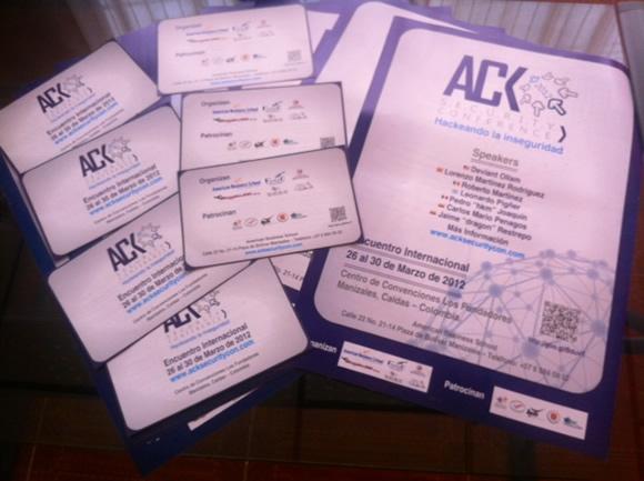 Afiches ACK
