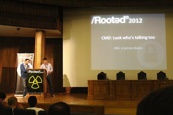CMD Crónica segundo día de Conferencias RootedCon 2012