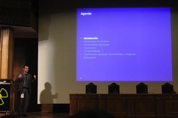Gerardo Crónica segundo día de Conferencias RootedCon 2012