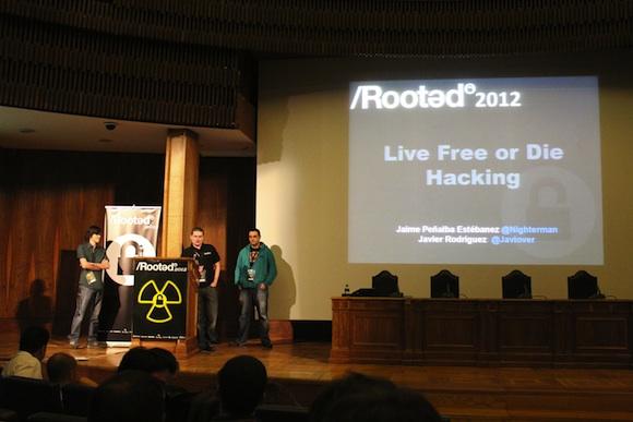 Live Crónica segundo día de Conferencias RootedCon 2012