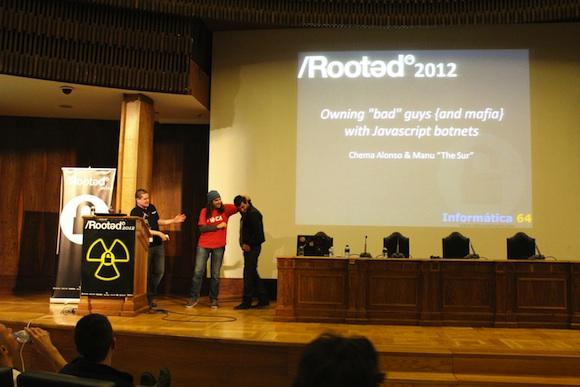 Mafia Crónica segundo día de Conferencias RootedCon 2012