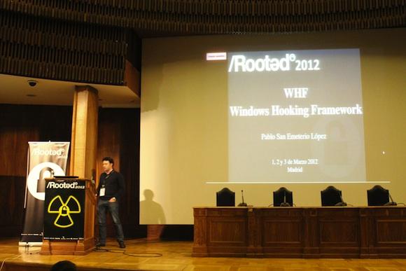 WHF Crónica segundo día de Conferencias RootedCon 2012