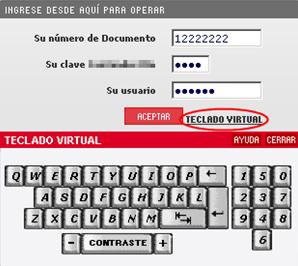 La seguridad de los Teclados virtuales